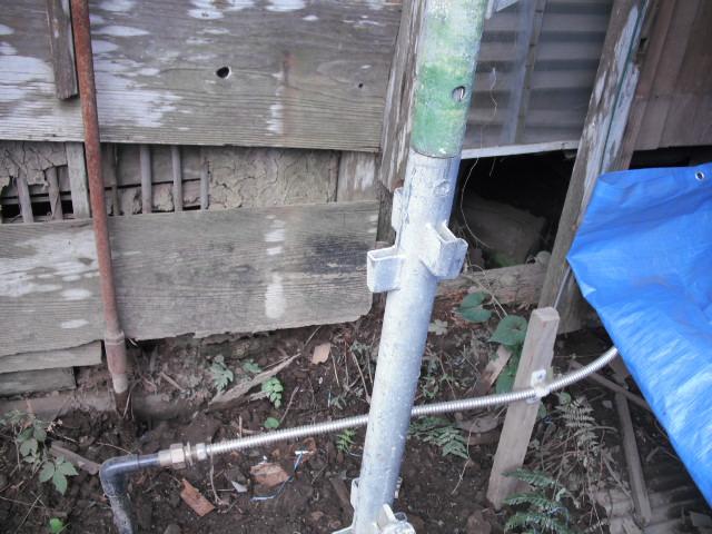 トイレ床下改修前
